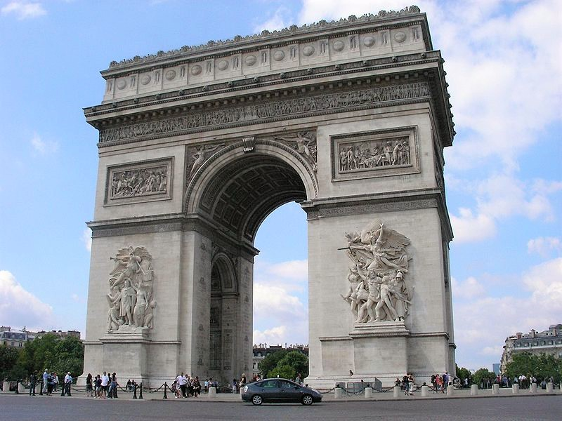 Khải hoàn môn, Paris
